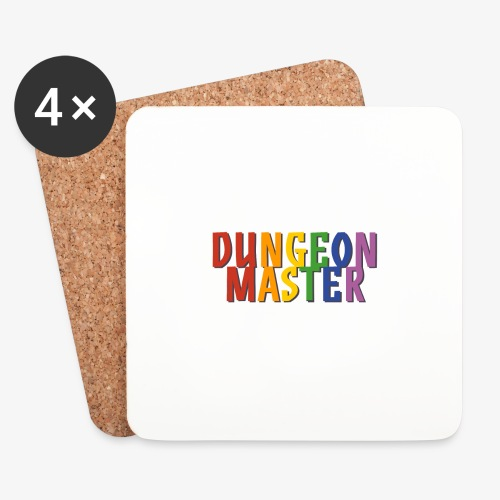 Dungeon Master Pride (Rainbow) - Coasters (set of 4)