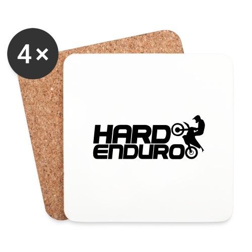 Hard Enduro Biker - Untersetzer (4er-Set)