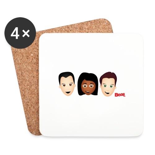 Beat Breakfast Mug - Coasters (set of 4)