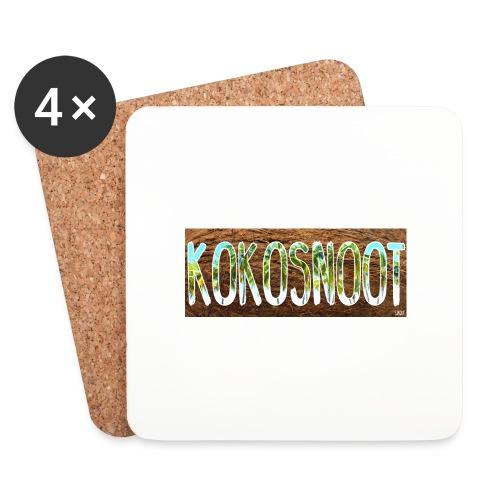 Kokosnoot - Onderzetters (4 stuks)