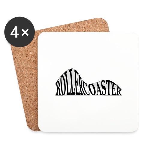 envelope_coaster - Glasbrikker (sæt med 4 stk.)