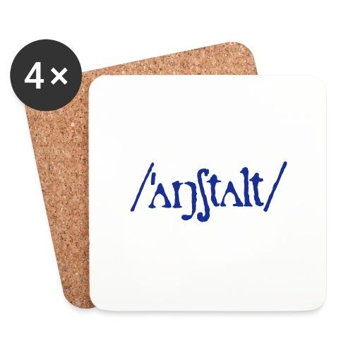 /'angstalt/ logo - Untersetzer (4er-Set)