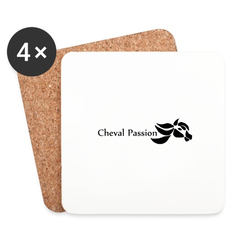 CHEVAL passion - Dessous de verre (lot de 4)