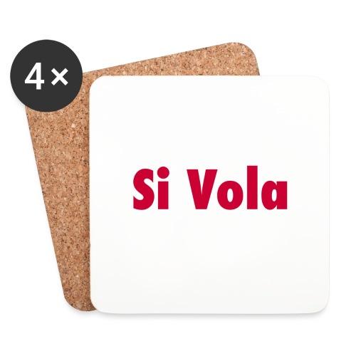 SiVola - Sottobicchieri (set da 4 pezzi)