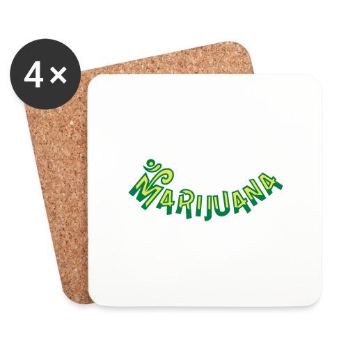 Om Marijuana - Coasters (set of 4)