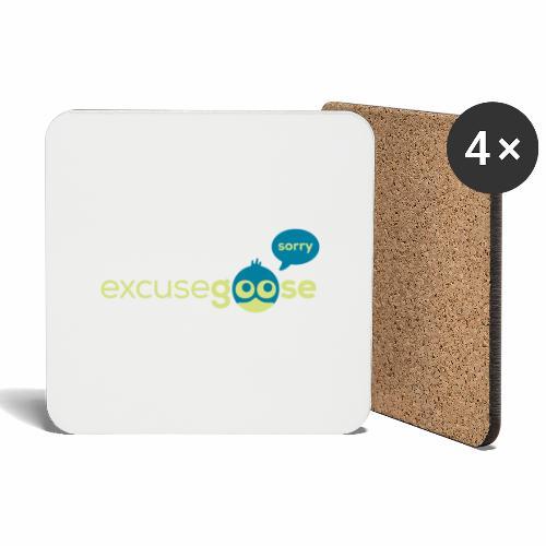 excusegoose 01 - Untersetzer (4er-Set)