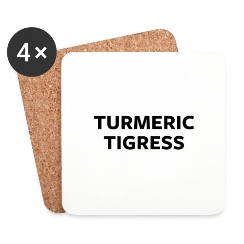 Turmeric Tigress - Coasters (set of 4)