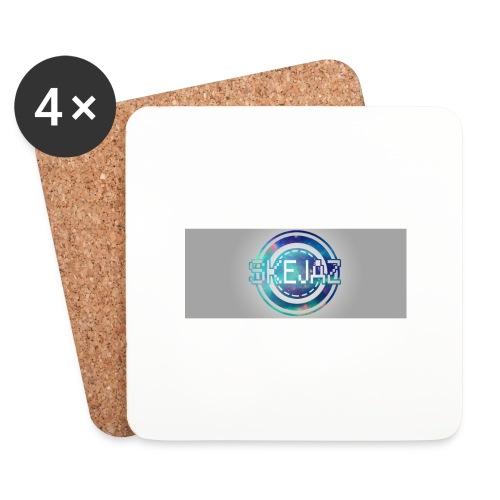 LOGO WITH BACKGROUND - Coasters (set of 4)