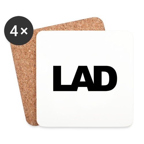 lad - Coasters (set of 4)