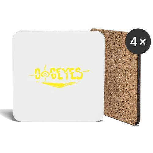 Dogeyes Logo - Coasters (set of 4)