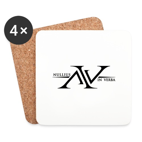 Nullius In Verba Logo - Coasters (set of 4)