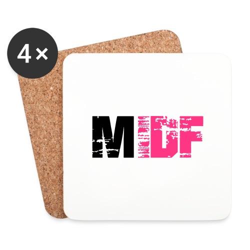 Logo MIDF 2 - Dessous de verre (lot de 4)