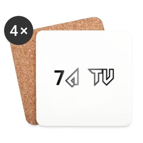 7A TV - Coasters (set of 4)