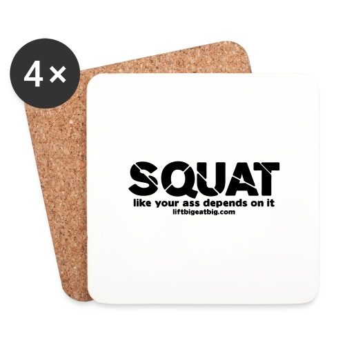 squat - Coasters (set of 4)