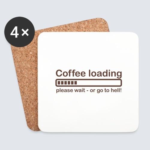 Coffee loading - Untersetzer (4er-Set)