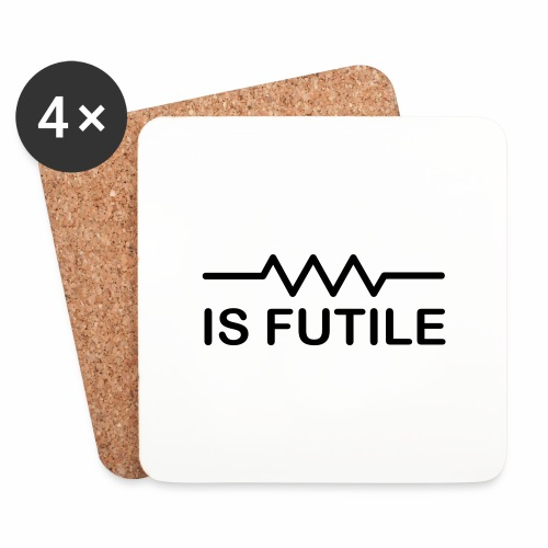 Resistance is Futile - Coasters (set of 4)