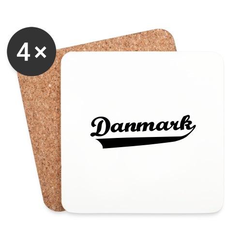 Danmark Swish - Glasbrikker (sæt med 4 stk.)
