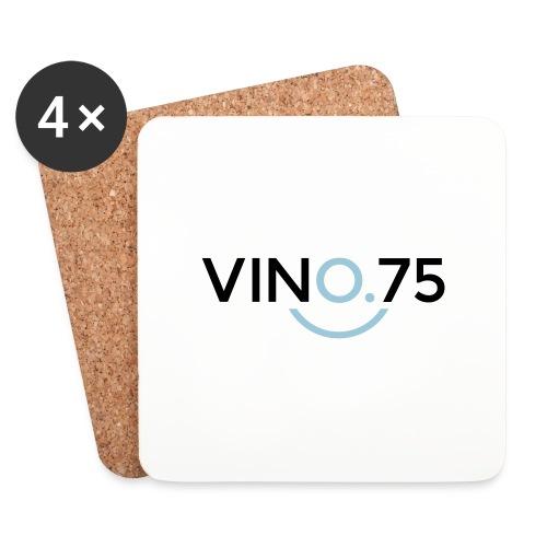 VINO75 - Sottobicchieri (set da 4 pezzi)