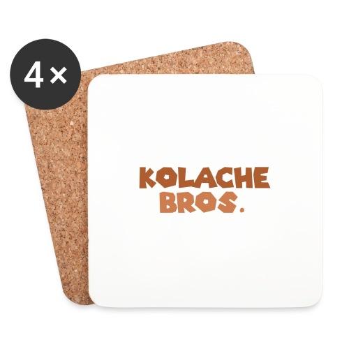 Kolache Bros. Logo Cap - Untersetzer (4er-Set)