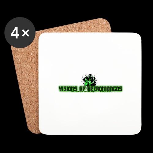 Necromongo Logo ONE - Untersetzer (4er-Set)