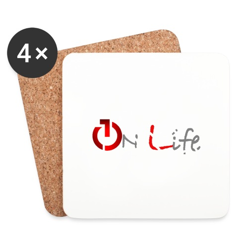 OnLife Logo - Dessous de verre (lot de 4)
