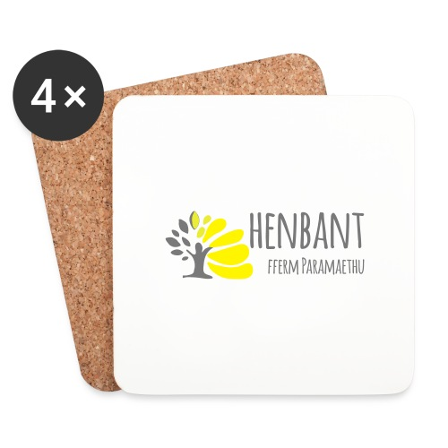 henbant logo - Coasters (set of 4)