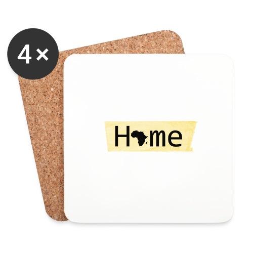 home in africa - Untersetzer (4er-Set)