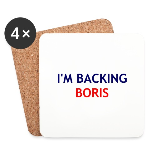 Backing Boris - Boxer Shirts - Coasters (set of 4)