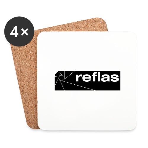 Reflas Clothing Black/Gray - Sottobicchieri (set da 4 pezzi)