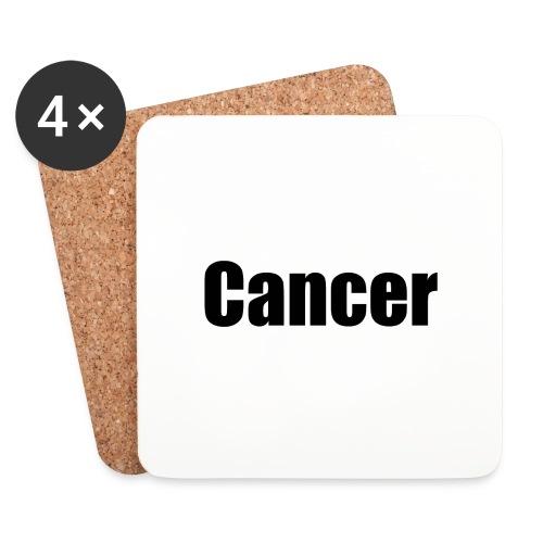 cancer - Coasters (set of 4)