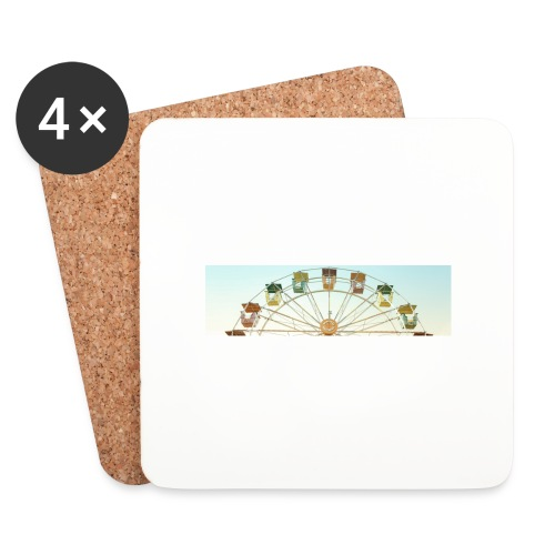 header_image_cream - Coasters (set of 4)