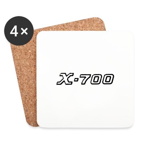 Minolta X-700 White - Sottobicchieri (set da 4 pezzi)