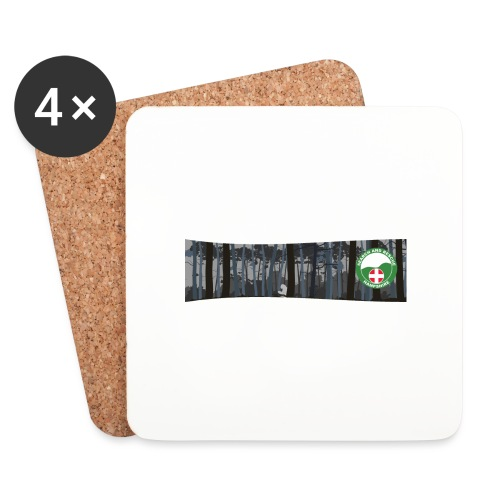 HANTSAR Forest - Coasters (set of 4)