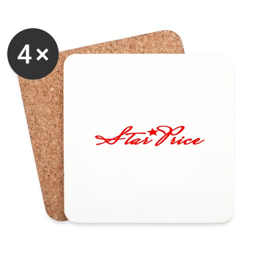 star price (red) - Coasters (set of 4)