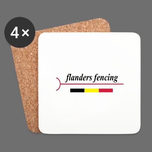 Flanders Fencing BE - Onderzetters (4 stuks)