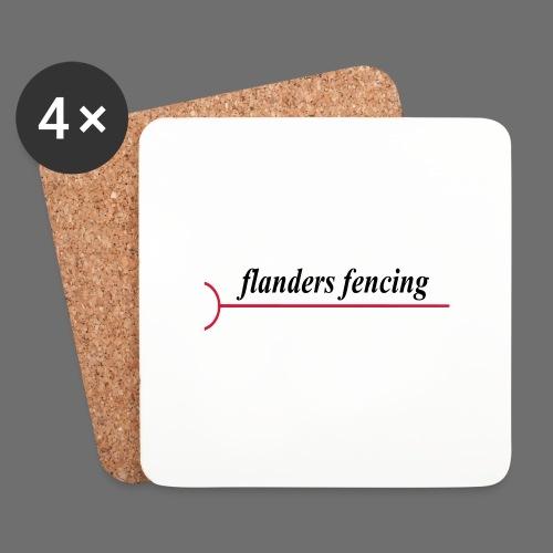 Flanders Fencing - Onderzetters (4 stuks)