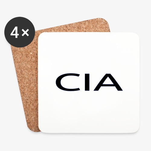CIA - Coasters (set of 4)