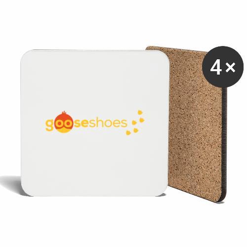 gooseshoes 01 - Untersetzer (4er-Set)