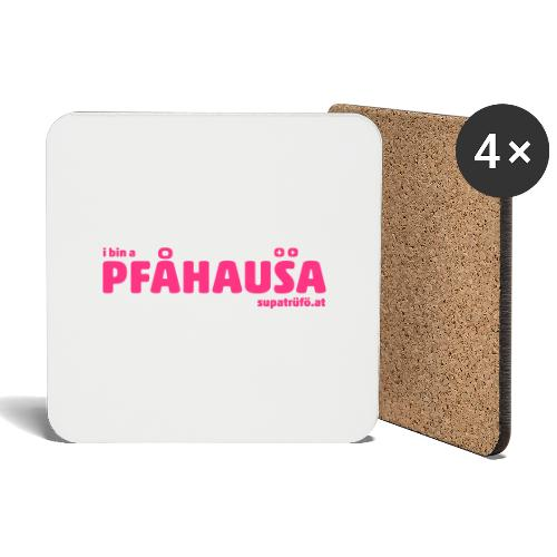 supatrüfö PFAUHAUSA - Untersetzer (4er-Set)