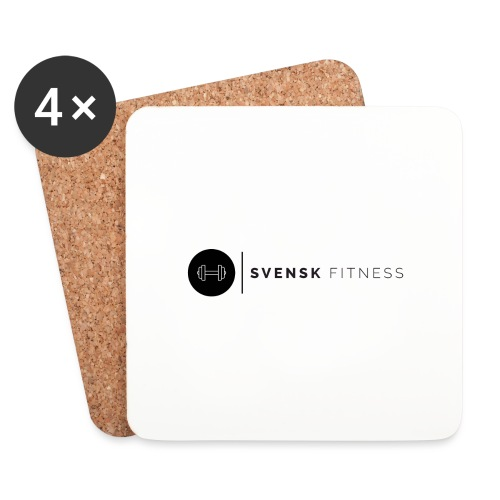 Linne med vertikal logo - Underlägg (4-pack)