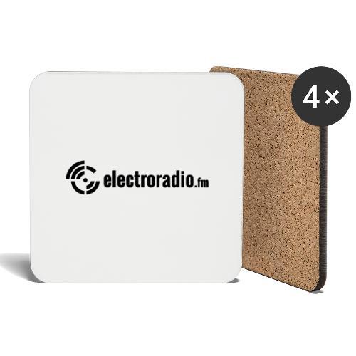 electroradio.fm - Untersetzer (4er-Set)