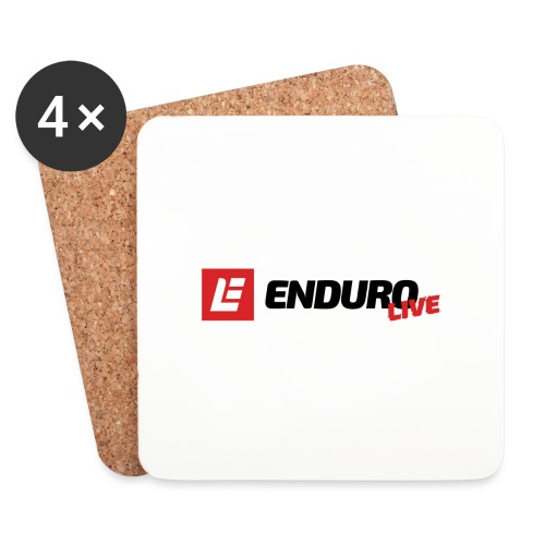 Enduro Live Clothing - Coasters (set of 4)
