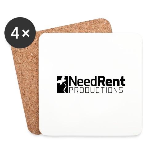 NeedRent Produktions - Glasbrikker (sæt med 4 stk.)