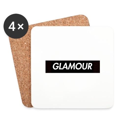 Glamour - Lasinalustat (4 kpl:n setti)