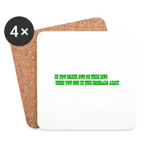 mug - Onderzetters (4 stuks)