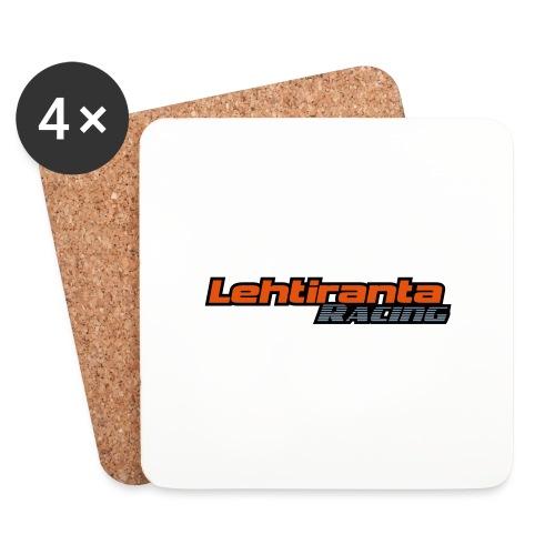 Lehtiranta racing - Lasinalustat (4 kpl:n setti)