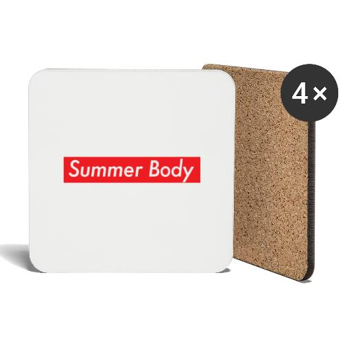 Summer Body - Dessous de verre (lot de 4)