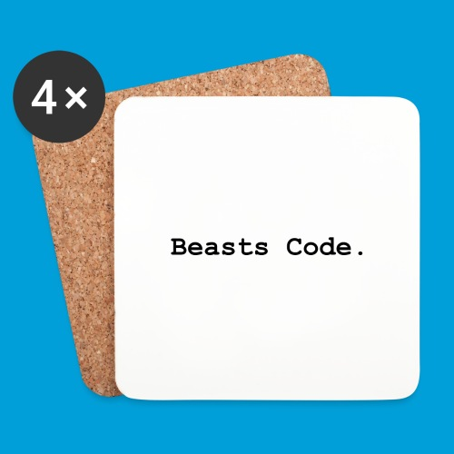 Beasts Code. - Coasters (set of 4)