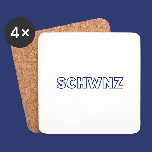 SCHWNZ - Onderzetters (4 stuks)