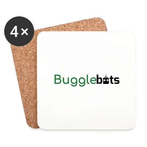 Bugglebots Non Black Clothing & Accessories - Coasters (set of 4)